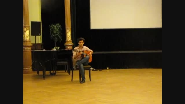 اجرای گیتار فلامنکو مجید ستوده نژاد در کشور چک