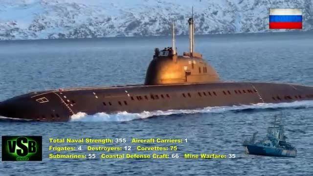 قدرت نیروی دریایی روسیه 2015