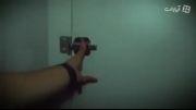دوربین مخفی ترسوندن در دستشویی