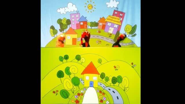 نمایش عروسکی - انیمیشن ابرهای بادکنکی _ قسمت دوم