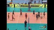 خلاصه بازی والیبال ایران و ژاپن