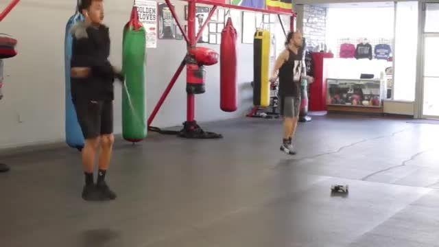 آموزش بوکس آماده سازی بدن قبل از مبارزه