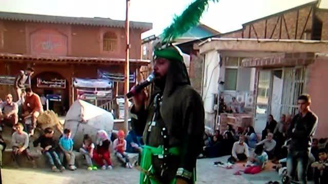 رکورد تحریر امیر صفری 18 ثانیه روستای گازرخان در الموت