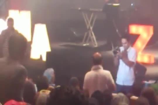 مهران مدیری و ... در کنسرت مازیار فلاحی