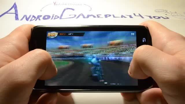 گیم پلی بازی اندرویدی Speedway GP 2012