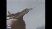 تصاویر لحظه به لحظه از سقوط یک هواپیما!
