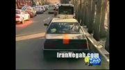 دوربین مخفی در تاکسی در تهران