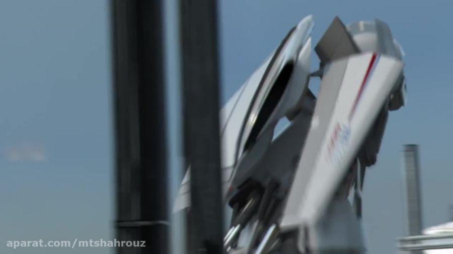 فرود یک هواپیما در فرودگاه فرانکفورت آلمان!!!