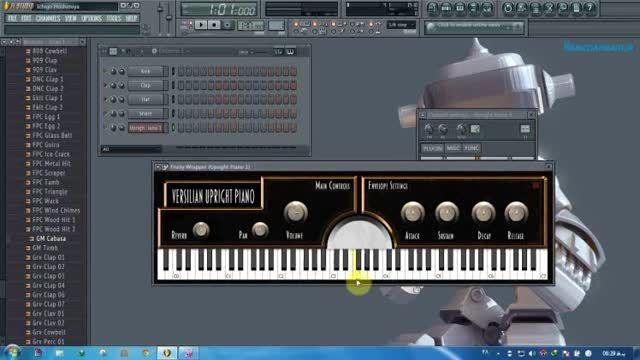 دانلود وی اس تی جدید پیانو VSUpright_v1