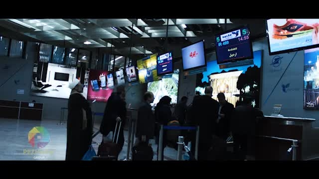 تایم لپس فرودگاه مهرآباد - ترمینال 2 ( سالن CHECKIN )