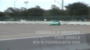 کلیپ دریفت - Tony Angelo_s Mazda Rx-7 Crash at Formula Drift