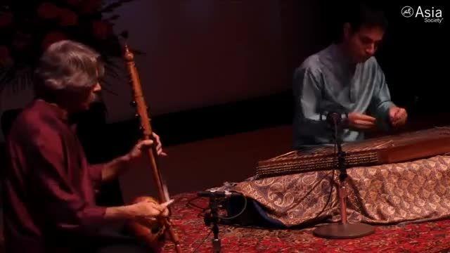 هنر نمایی  استاد اعظم کیهان کلهر با شاه کمان