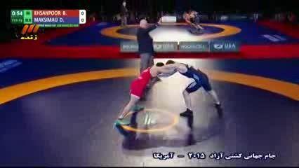 جام جهانی کشتی آزاد 2015: ایران - بلاروس