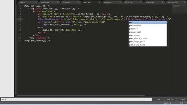 تبدیل HTML به وردپرس - بخش دوم