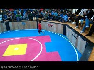 ورزش محمدمولوی بیستونی زورخانه نیروگاه اتمی بوشهر93