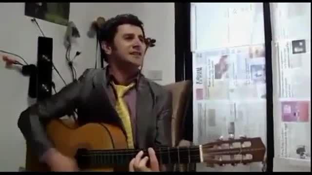 گیتار زدن امین حیایی