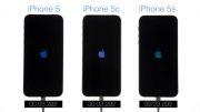 سرعت بوت شدن iphone 5 و iphone 5c و iphone 5s