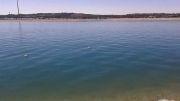 نمای کلی از دریاچه چیتگر