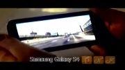 تست بازیHTC One، Galaxy S4، Xperia Z