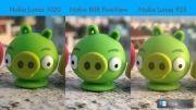 ویدیوی مقایسه دوربین لومیا 1020 و لومیا 920 و پیور ویو 808