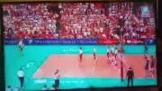 والیبال برزیل لهستان فینال جام جهانی 2014