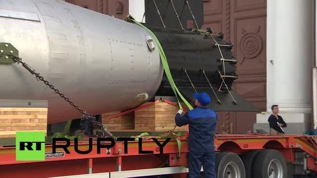 ماکت بمب اتمی تزار به موزه مسکو رفت