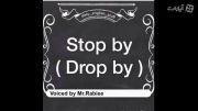 اموزش حرفه ای زبان - اصطلاح stop by