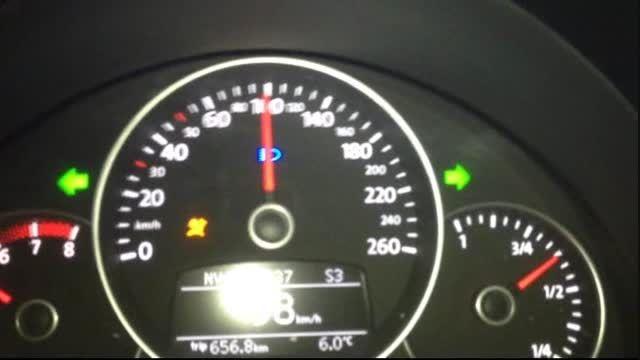 فولکس بیتل 2.0 TSI سرعت 0-232