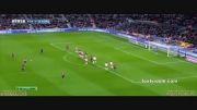 گل فوق العاده زیبا و حرفه ای لیونل مسی