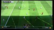 بازی اسپانیا آلمان در PES2015 (پارت 1)