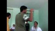 رقص جلوی معلم  سر کلاس درس