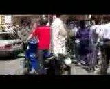 پلیس و مردم در آتش سوزی بازار مبل!