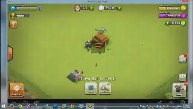 هک کلش-نقشه کلش-ربات کلش-ترفند کلش-آموزش هک بازی