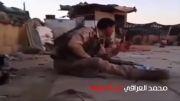 محاصره گروهی از سربازان ارتش عراق توسط داعش