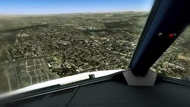 بلیط لحظه آخری - فرود زیبای هواپیما در مشهد