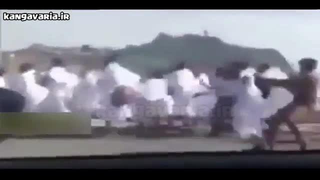 ربودن حجاج توسط شرطه های سعودی
