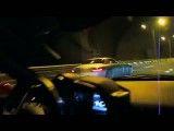 درگ بین  فراری 458 و مرسدس بنز  SLS AMG