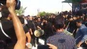 نوحه خوانی سید عباس موسوی در روز عاشورای حسینی شهر اسیر