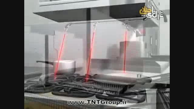 سیستم اطفای حریق آشپزخانه های صنعتی