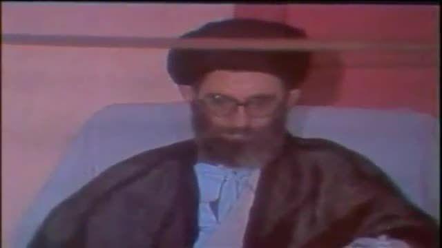 سخنی زیبا از امام خمینی نسبت به امام خامنه ای