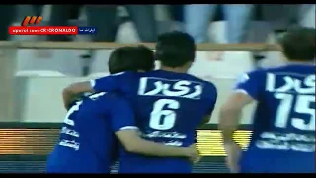 استقلال تهران 1 - 0 ملوان بندرانزلی (گل اول ابراهیمی)