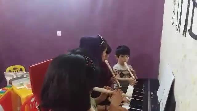 آموزشگاه موسیقی کهکشان - کلاس ارف خانم ادیب
