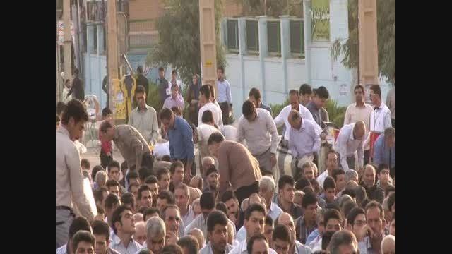 نماز عید سعید فطر در شهرستان سرپلذهاب