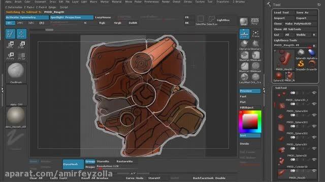 Zbrush modeling tutorial - Episodes 2