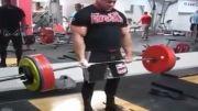 300 کیلو ددلیفت 11 تکرار توسط کنستانتین