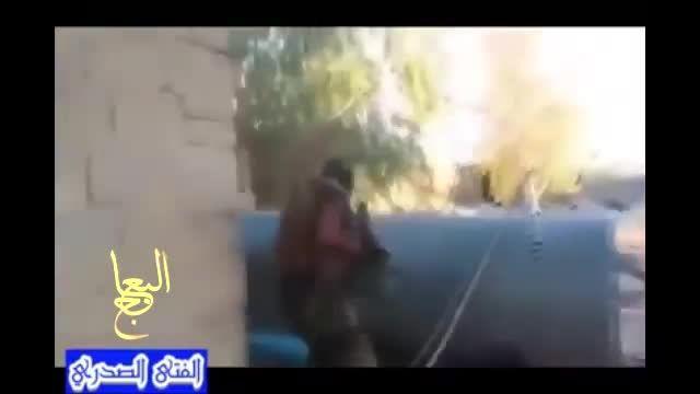 دستگیری تک تیرانداز داعش توسط نیروهای سرایا السلام