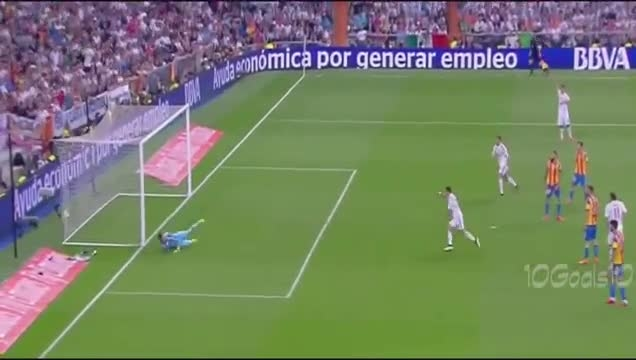 رئال مادرید 2 - 2 والنسیا (گل ایسکو)