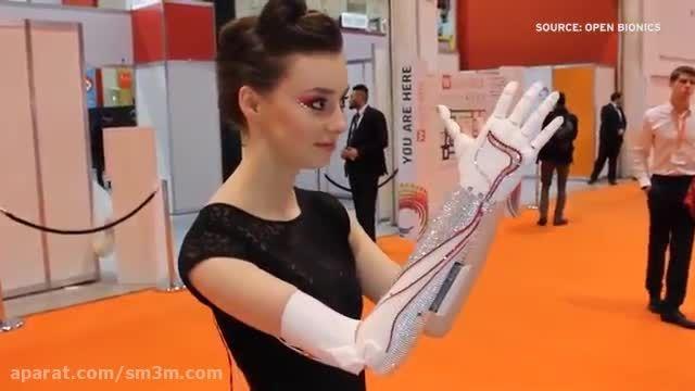 ساخت دست مصنوعی رباتیکی با پرینتر های سه بعدی