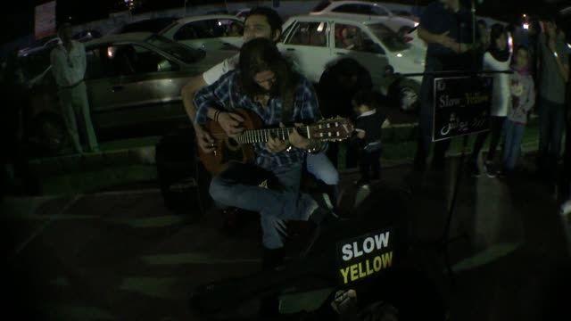 زرد یواش / slow yellow : اجرای کرمان 9