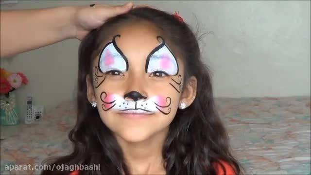 نقاشی روی صورت کودکان ؛ مدل 2